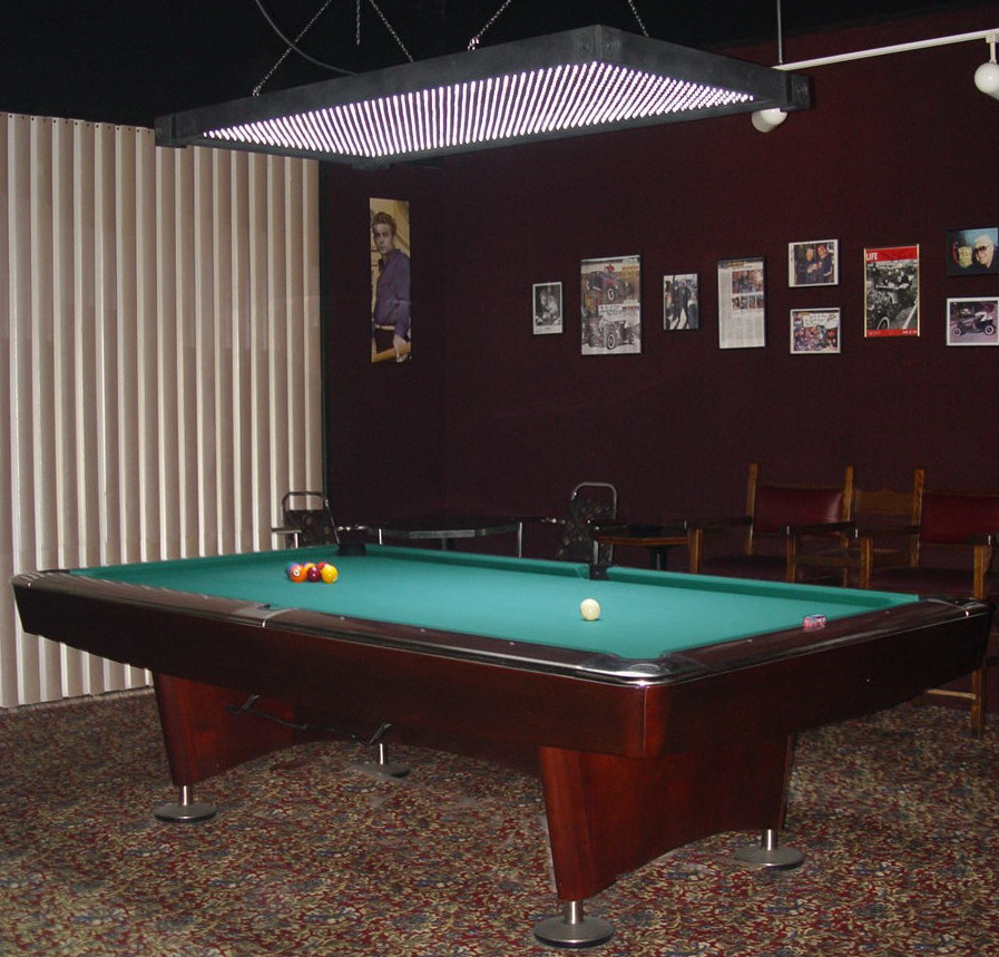 proper pool table lighting to play a good pool table games pool. Black Bedroom Furniture Sets. Home Design Ideas